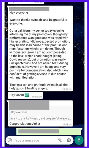 Avinash ANAND SINGH - http://avinashanandsingh.com/ - Testimonial